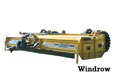 Windrow Shredder